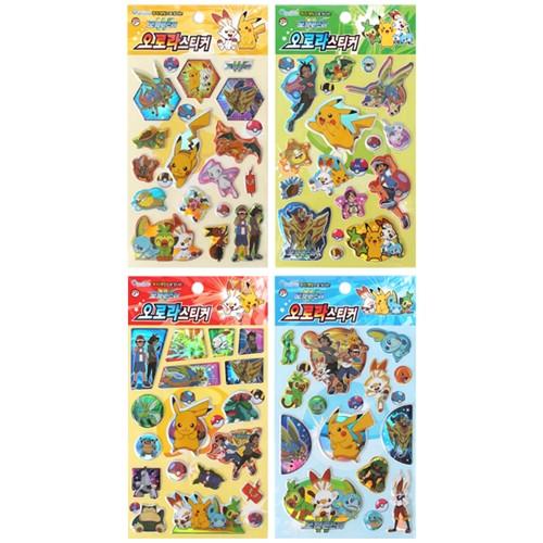 Pokemon Sword and shield Aurora Stickers