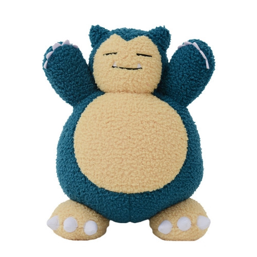 Pokemon Snorlax Curly Fabric Plush