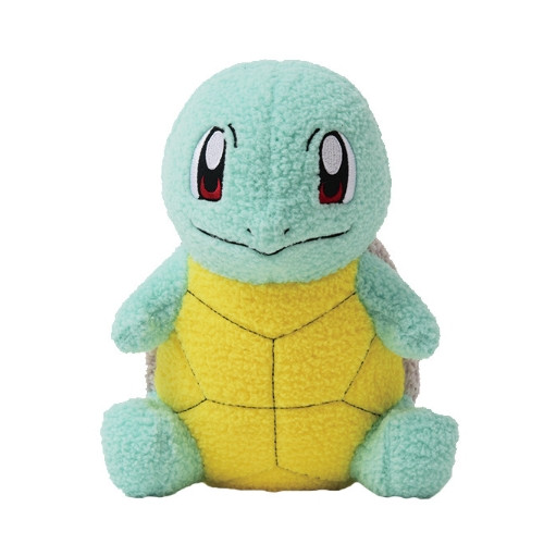 Pokemon Squirtle Curly Fabric Plush