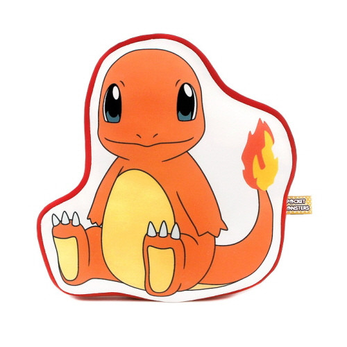Pokemon Outlined Nap Cushion - Charmander