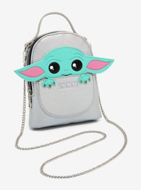 Star Wars Baby Yoda Mandalorian Grogu Mini Wristlet Bag