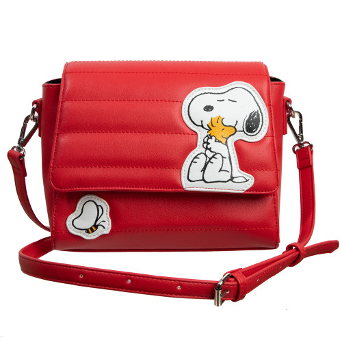 Charlie Brown Snoopy Dog House Cartoon Character Shoulder Bag