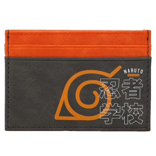 Naruto Hidden Leaf Village ID Card Wallet