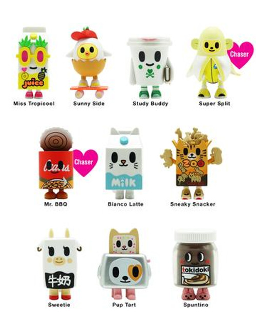 Tokidoki Blind Box: Moofia Breakfast Besties Series 2