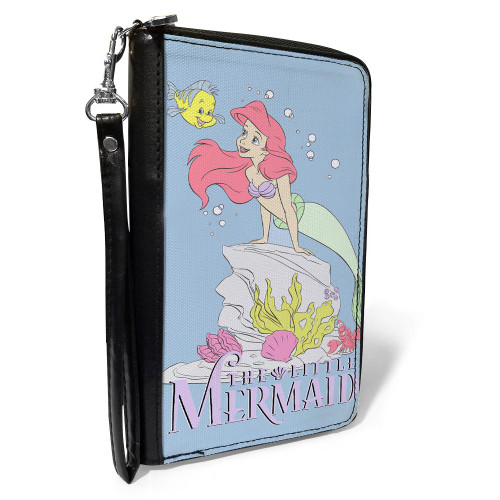 Disney Ariel The Little Mermaid Women's Zip Around Wallet