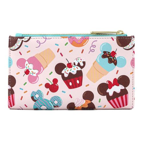 Loungefly Disney Mickey Minnie Sweet Treats Flap Wallet