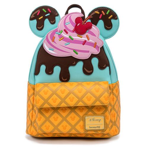 Lf Disney: Mickey & Minnie Sweet Treats Mini Backpack
