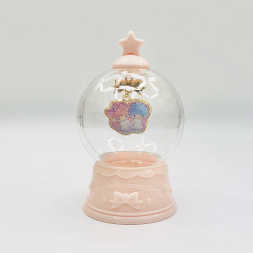 Sanrio Twin Stars Necklace Snowglobe