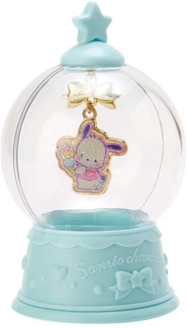 Sanrio Pochacco Necklace Snowglobe
