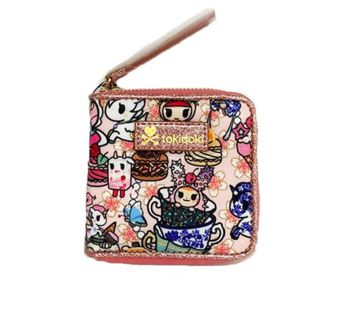 Tokidoki Kawaii Confections Small Zip Around Wallet