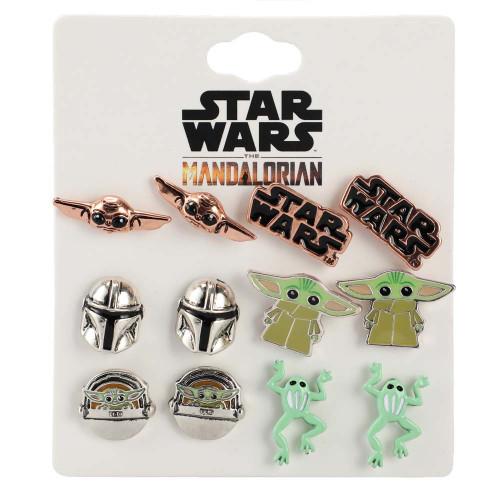 Star Wars The Mandalorian Grogu Stud Earring Set