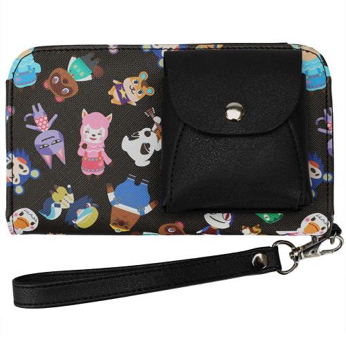 Animal Crossing Mini Wristlet Bag