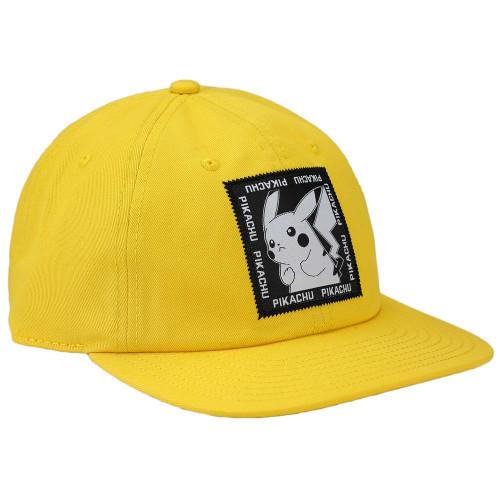 Pokemon Pikachu Woven Patch Slouch Flatbill