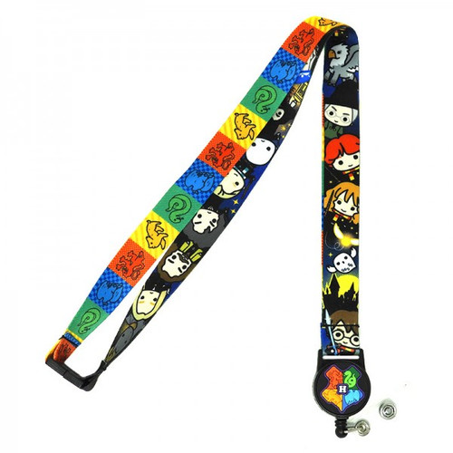 Harry Potter Lanyard w/ Retractable Card Holder