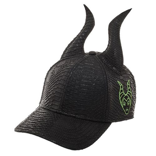 Disney Villains: Maleficent Horns Black Cap Hat