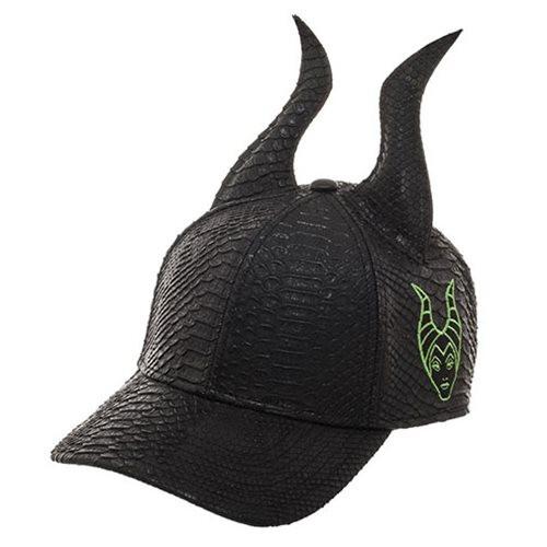 Disney Villains: Maleficent Horns Black Cap Hat