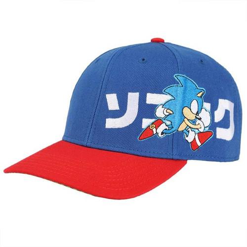Sonic Kanji Precurved Bill Snapback