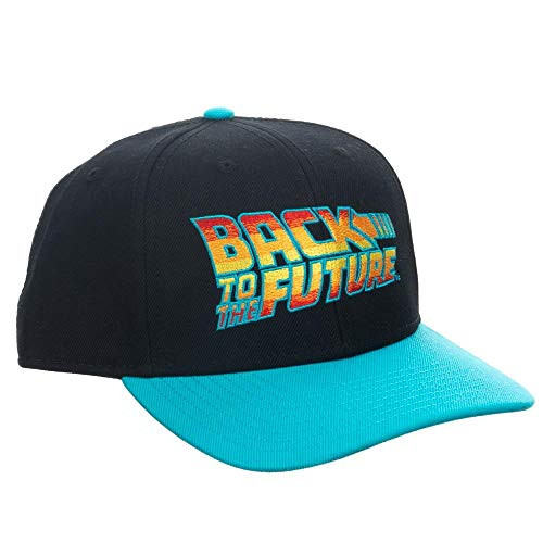 Back to The Future Flat Bill Snapback Blue