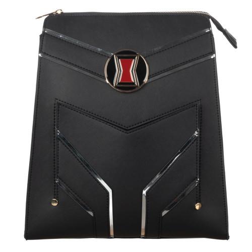 Black Widow Slim PU Mini Backpack