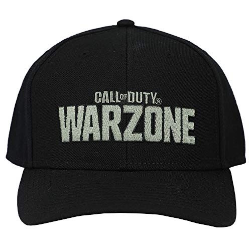 Call of Duty Warzone Embroidered Logo Pre Curve Snap Back Hat