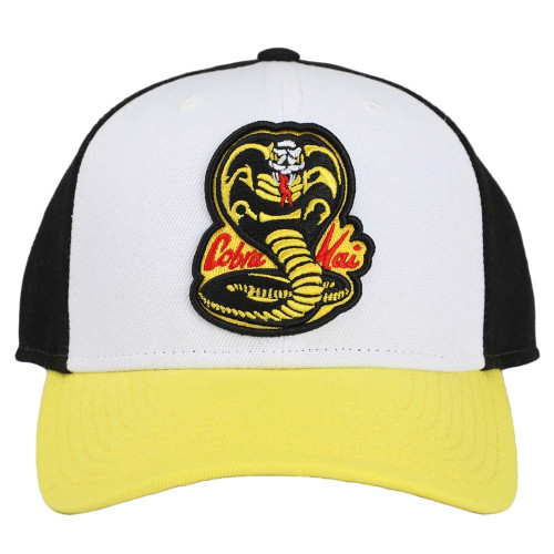 Cobra Kai No Mercy Embroidered Pre-Curved Snapback