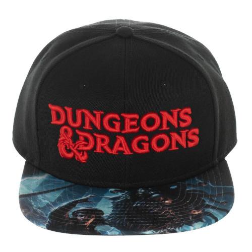 Dungeons & Dragons Logo Snapback