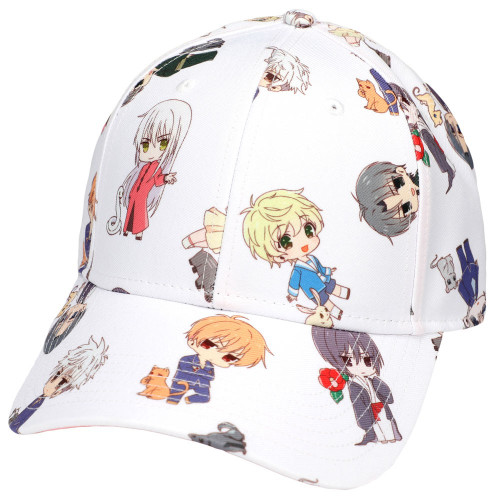 Fruits Basket Pattern Pre-Curved Bill Snapback