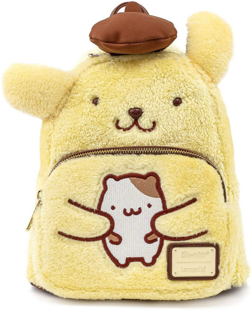 Loungefly x Sanrio Pompompurin Cosplay Mini Backpack