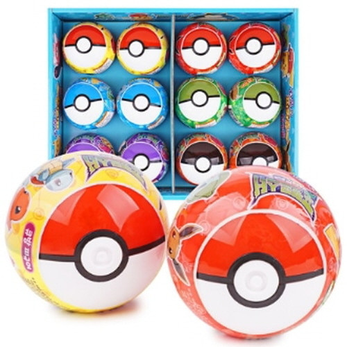 Pokemon Pokeball Mystery Figure