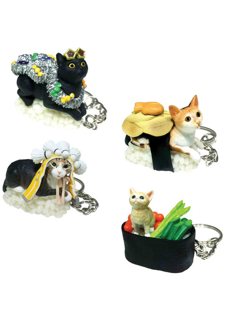 Sushi Cat Series 3 Keychain Blind Box Figure