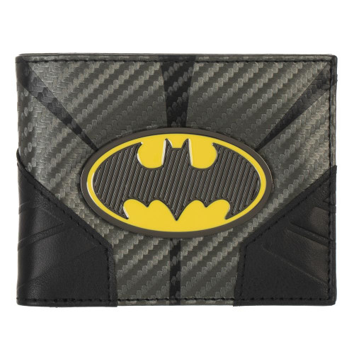 Batman: Metal Badge Bi-fold Wallet