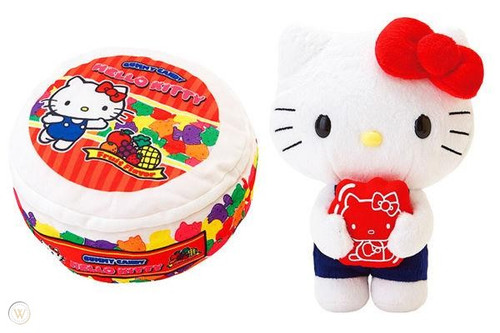Hello Kitty Fruit Reversible PLush