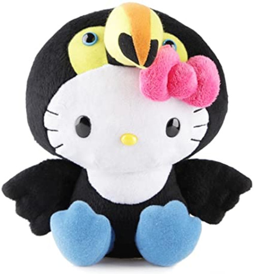 "Sanrio Hello Kitty 8"" Plush Cheeta / Elephant / red Panda / Hippo / Tucan"