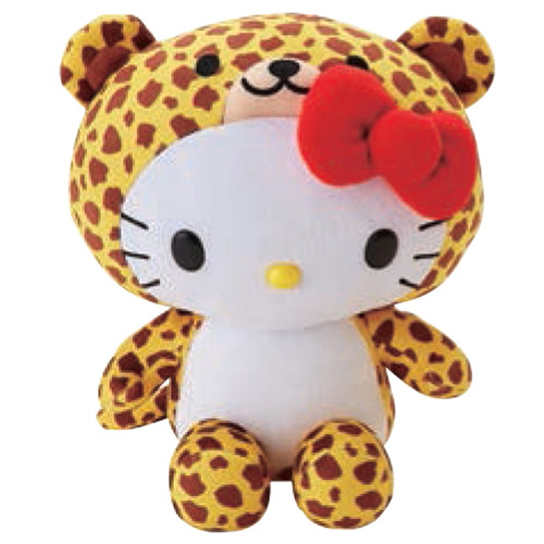Hello Kitty Cheeta Plush
