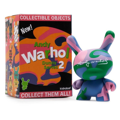 Andy Warhol Brillo Object Series Kidrobot Shoe 2//24 Rarity