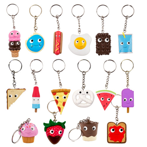 Yummy World Assorted Key-chains