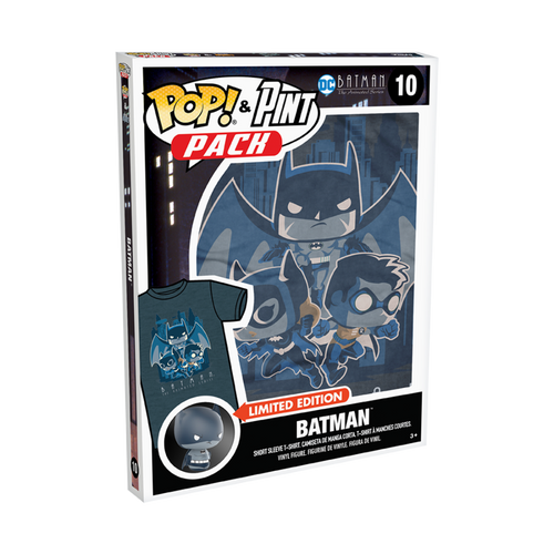 Funko POP! Tee & Pint Pack - Batman The Animated Series