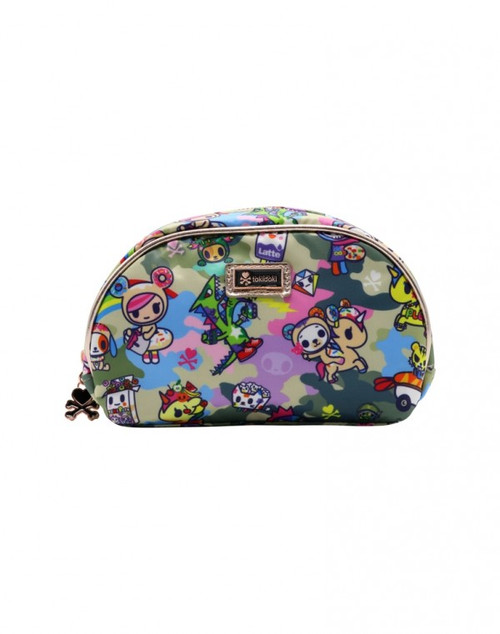 Camo Kawaii Cosmetic Bag