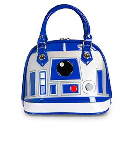 Loungefly STAR WARS R2-D2 PATENT EMBOSSED Dome BAG