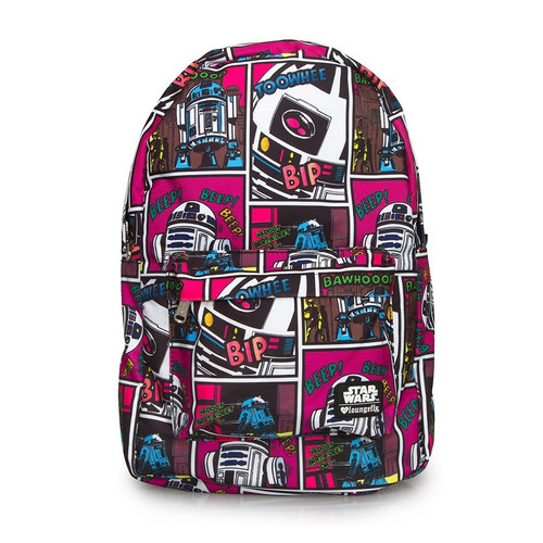 Loungefly x Star Wars R2D2 Comic Backpack