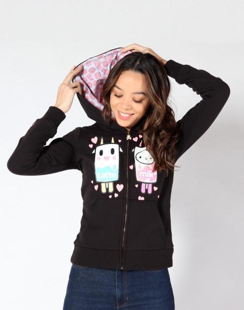 tokidoki x Hello Kitty Latte Kitty Love Hoodie Spring 2019