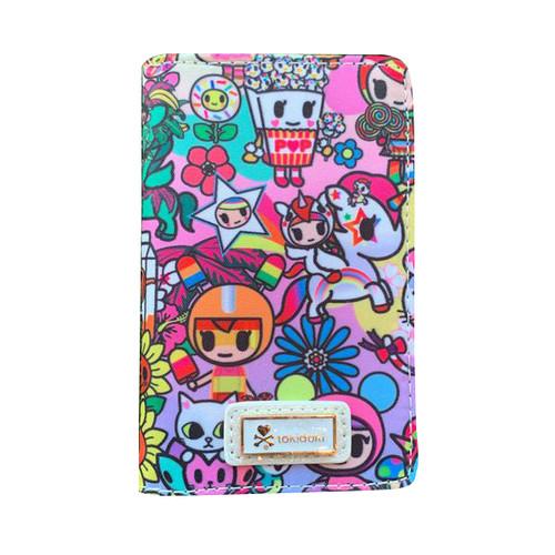 tokidoki Flower Power Small Fold Wallet