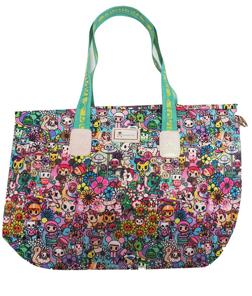 tokidoki Flower Power Tote Bag