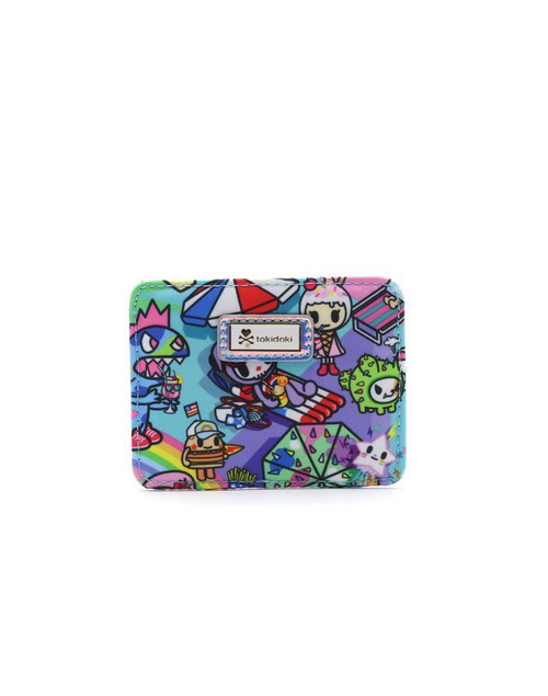 Pool Party Flat Card Holder