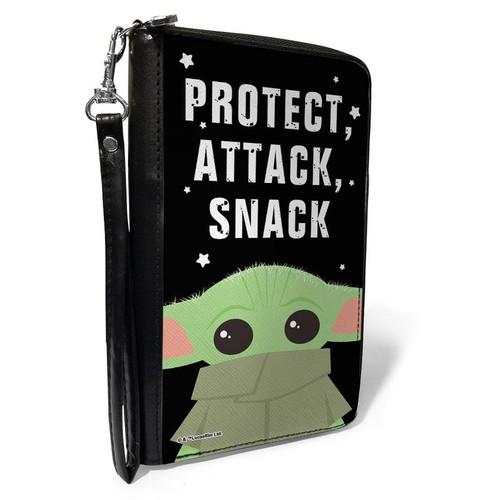 Star Wars Baby Yoda Mandalorian PU Zip Around Wallet