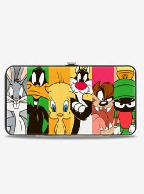 Looney Tunes Classic Characters Blocks Hinged Wallet