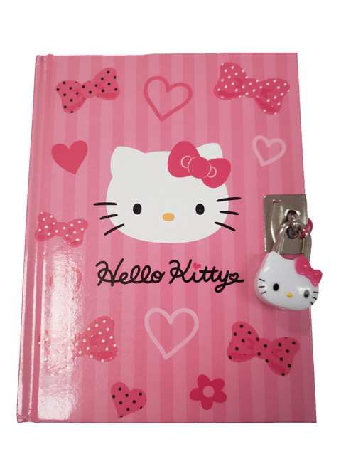 Hello Kitty Diary: Bows and Hearts