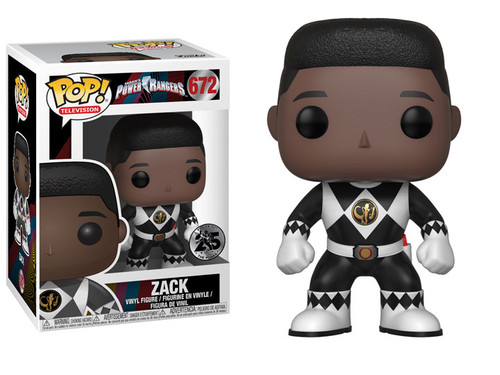 Pop! Television Mighty Morphin Power Rangers Zack 672