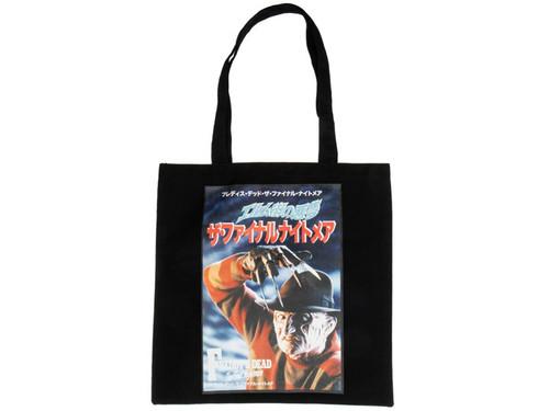 Nightmare on Elm Street Book Tote Bag