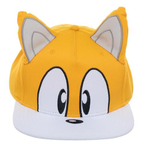 Tails Big Face Snapback Cap